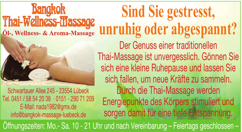Bankok Thai-Wellness-Massage