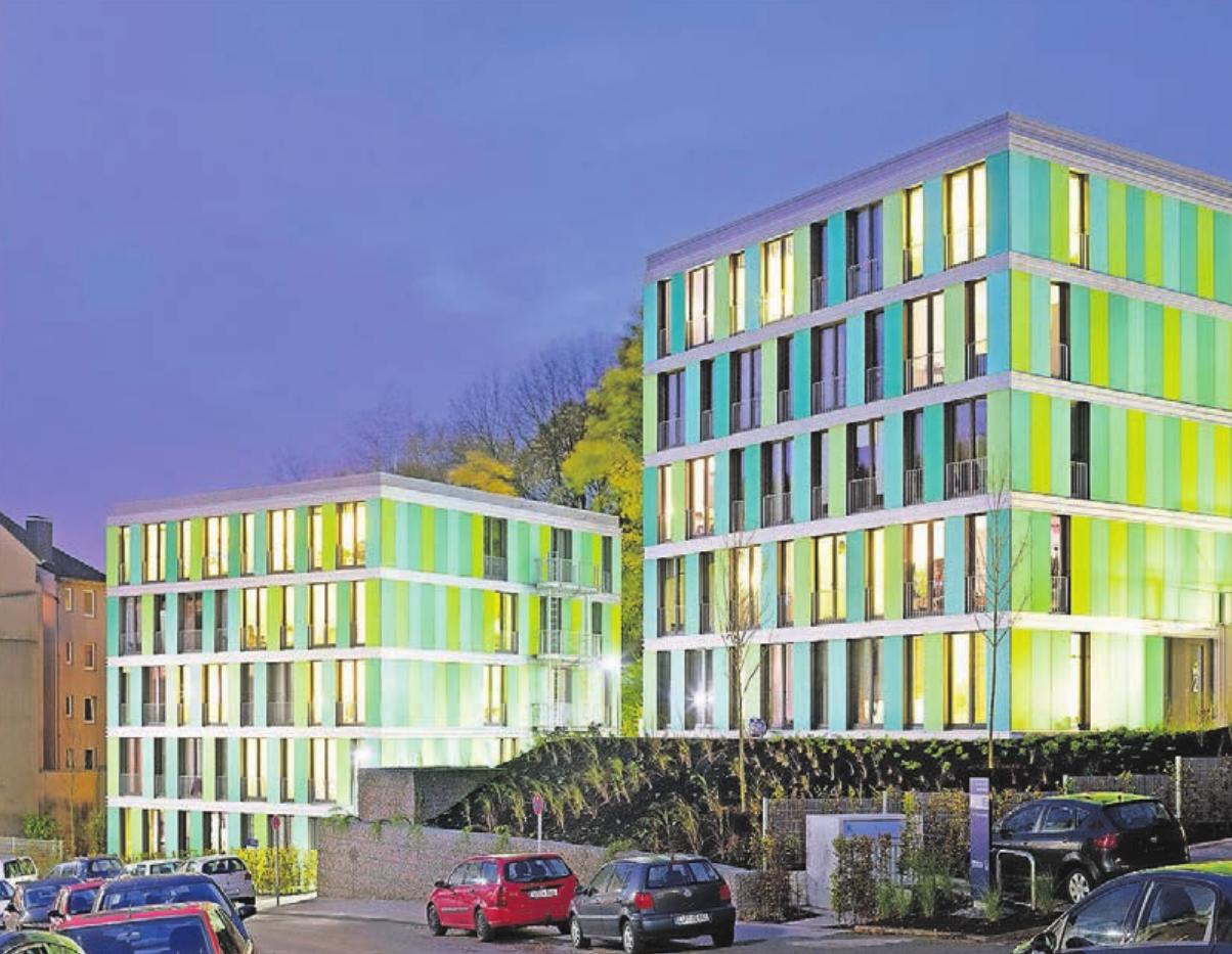 Das Studentenwohnheim Im Ostersiepen wurde von ACMS entwickelt.