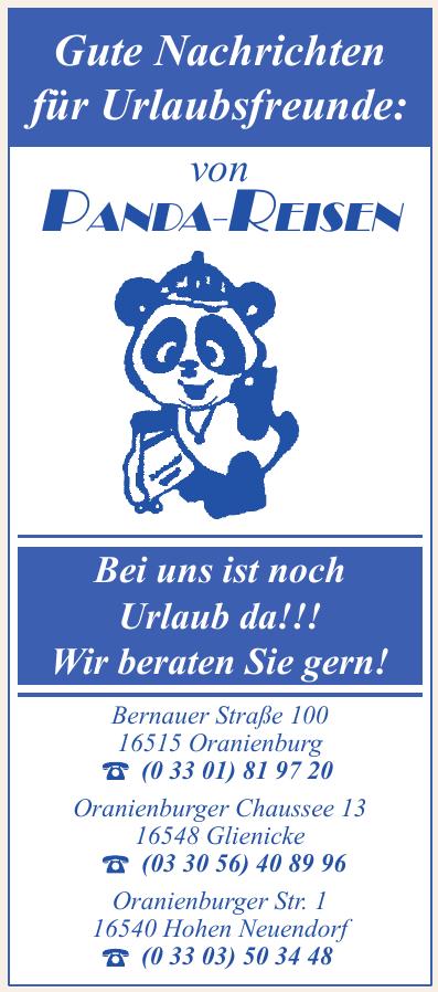 Panda Reisen