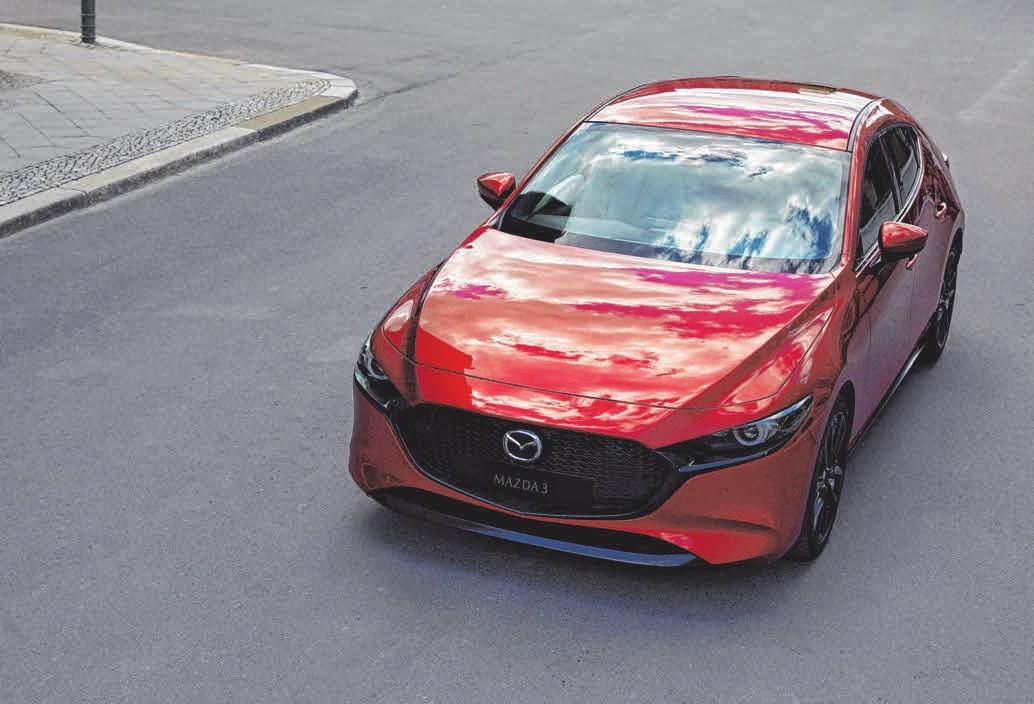 Der neue Mazda 3. FOTO: MAZDA