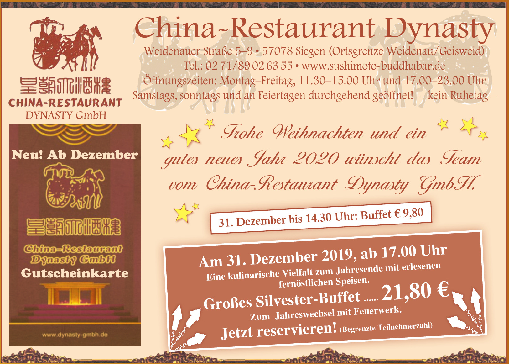 China-Restaurant Dynasty