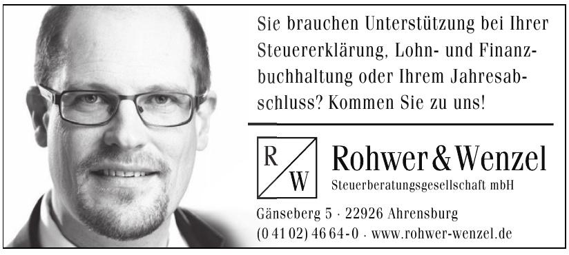Rohwer & Wenzel Steuerberatungsgesellschaft mbH