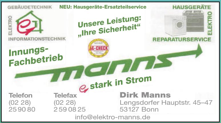 Elektro Manns