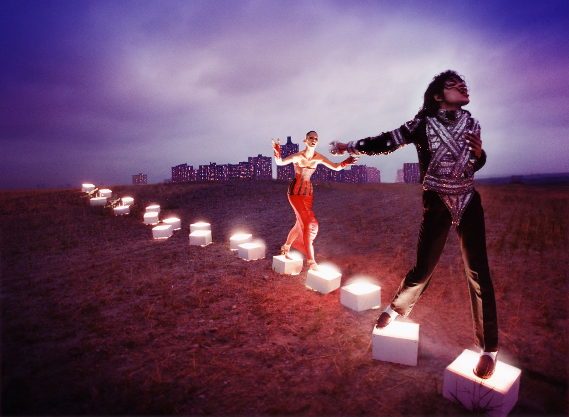 Abb.: David LaChapelle, An Illuminating Path, 1998, Courtesy of the Artist © David LaChapelle