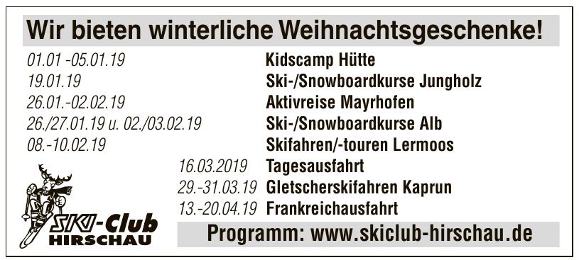 Ski Club Hirschau