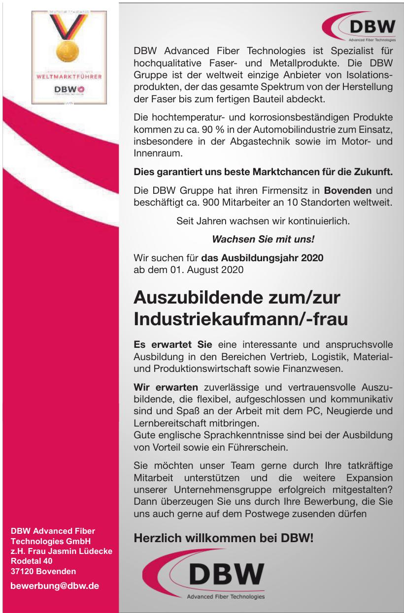 DBW Advanced Fiber Technologies GmbH