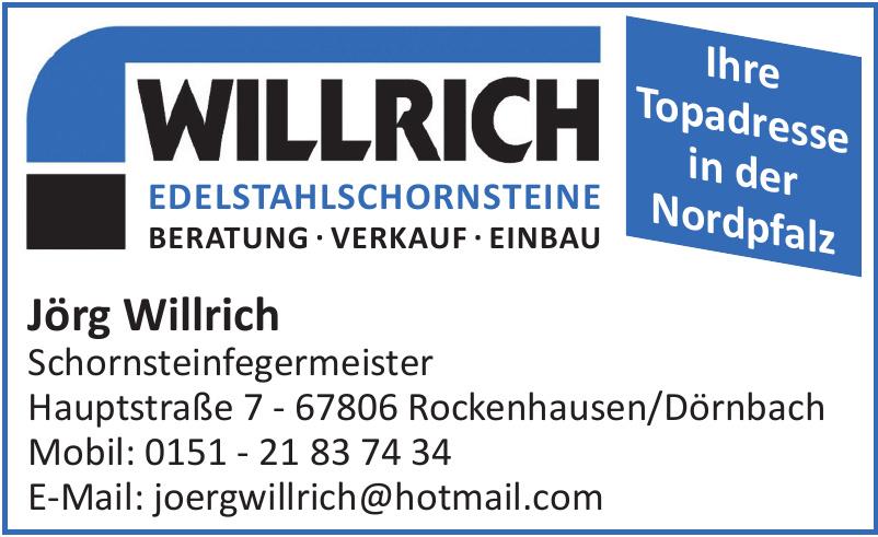 Jörg Willrich Schornsteinfegermeister