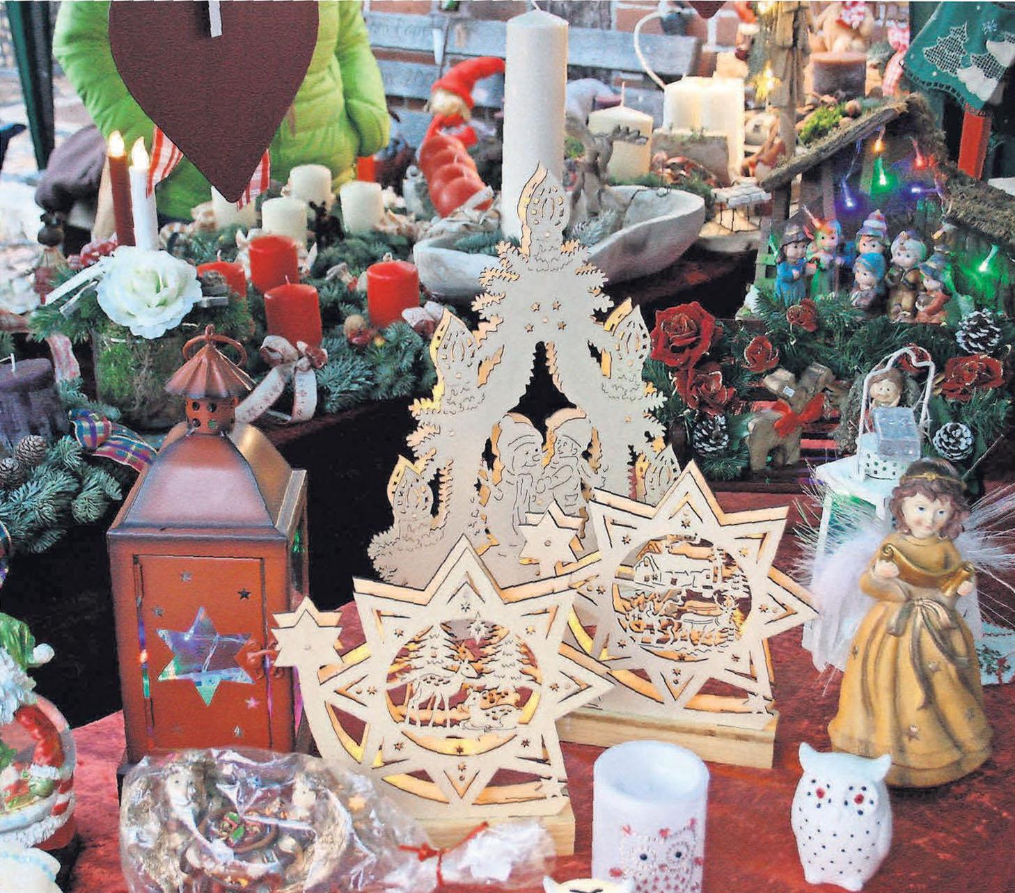 Schwibbögen und Engelchen: In Hänigsen ist Weihnachten traditionell.