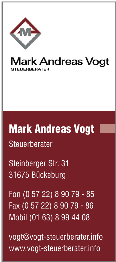Mark Andreas Vogt Steuerberater