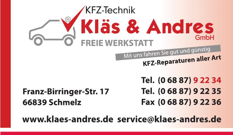 KFZ-Technik Kläs & Andres GmbH