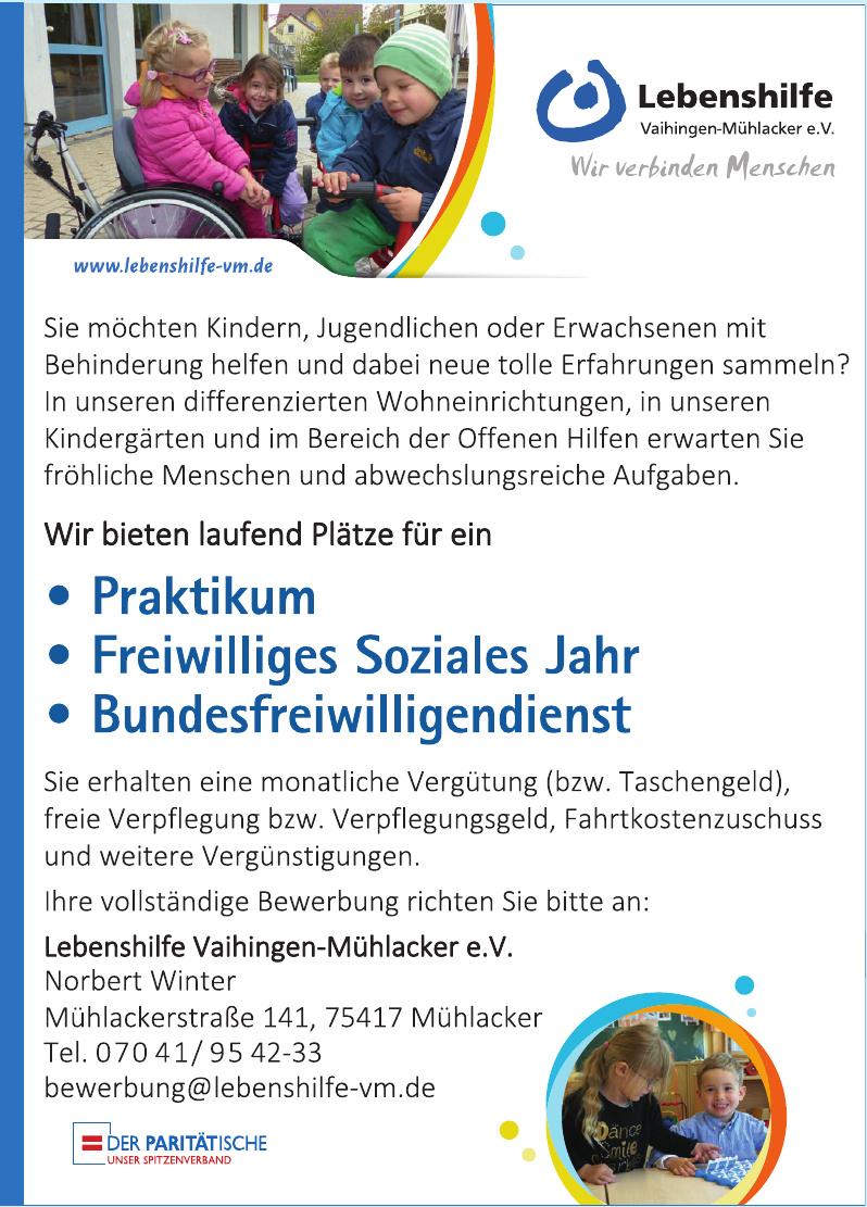 Lebenshilfe Vaihingen-Mühlacker e. V.