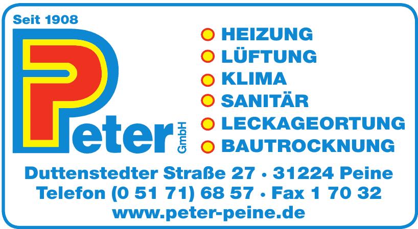 Peter GmbH