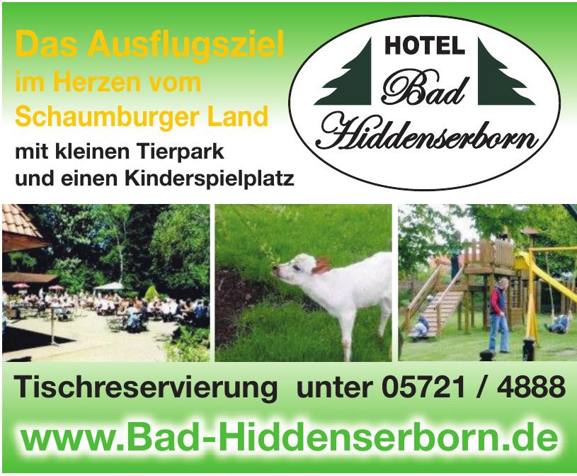 Hotel Bad Hiddenserborn