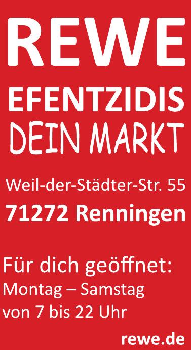 Rewe Efentzidis Dein Markt