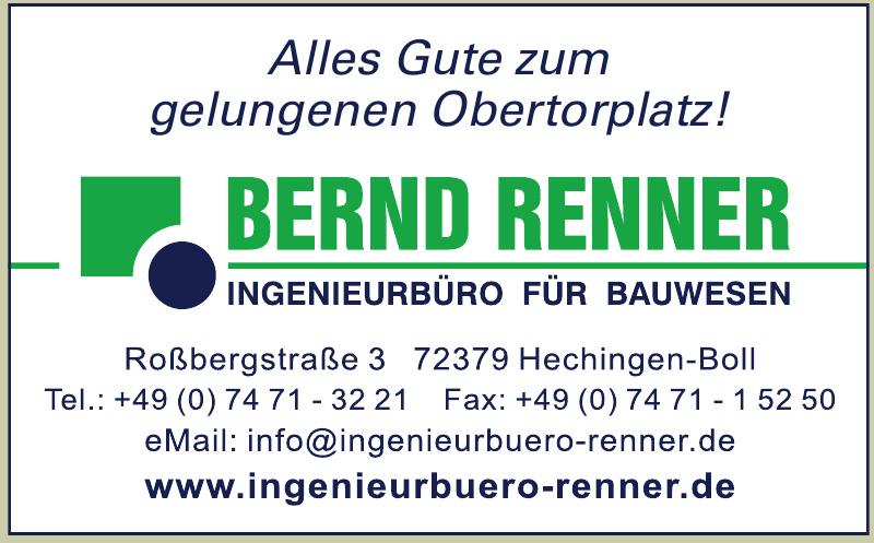 Bernd Renner Ingenieurbüro für Bauwesen