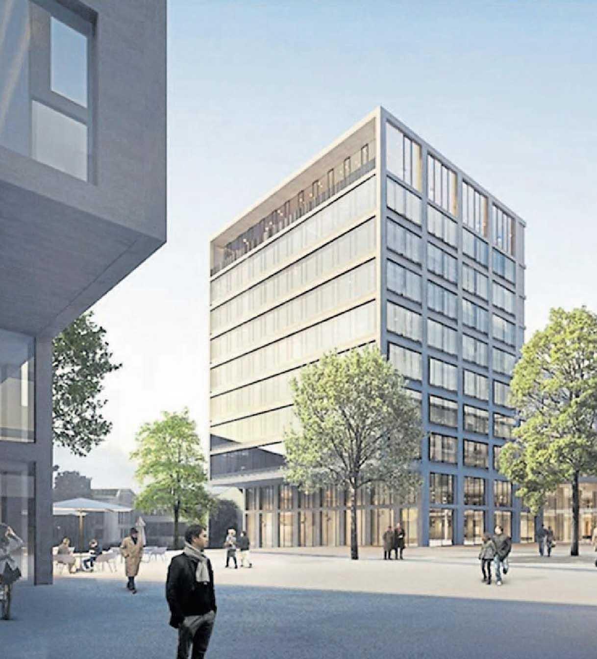 Siège de la sécurité sociale – Luxconsult SA/Böge Lindner K2 Architekten/Architecture et Environnement SA