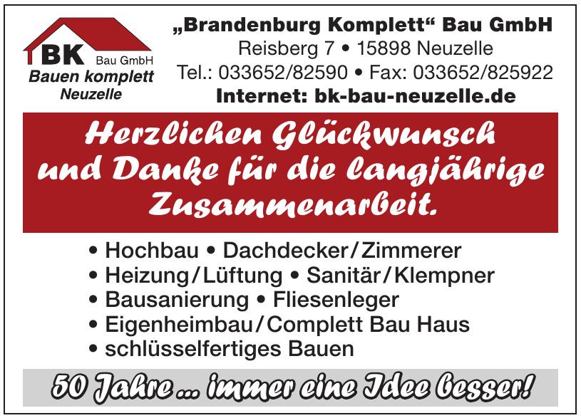 Brandenburg Komplett Bau GmbH