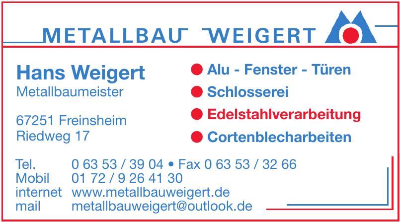 Metallbau Weigert