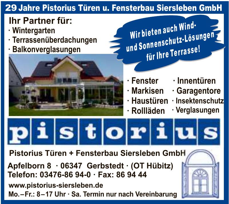 Pistorius Türen + Fensterbau Siersleben GmbH