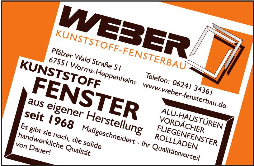Weber Kunststoff-Fensterbau