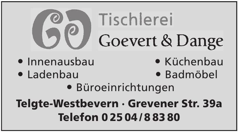 Tischlerei Goevert & Dange