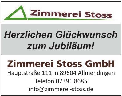 Zimmerei Stoss GmbH