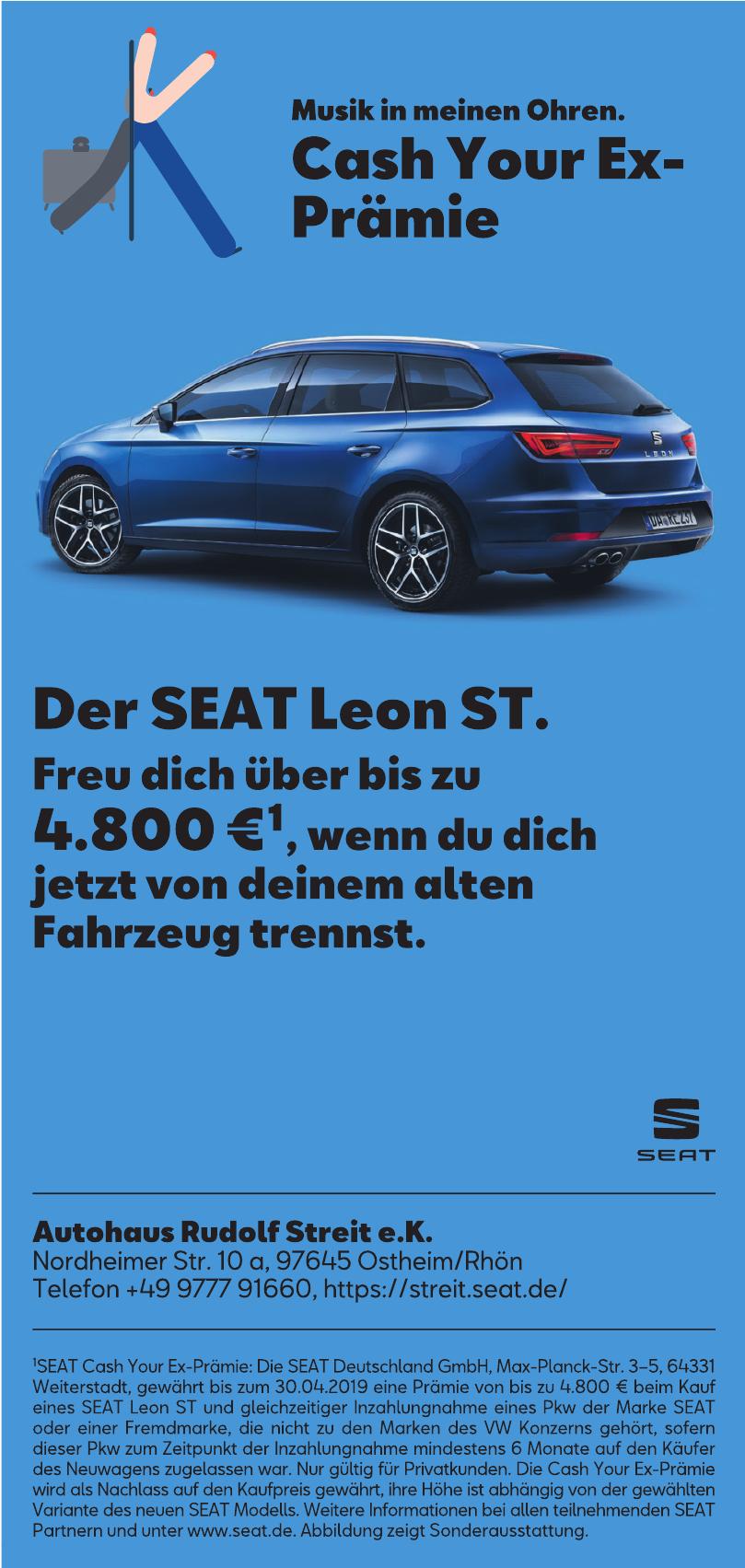 Autohaus Streit - SEAT Autohaus Rudolf Streit e.K.