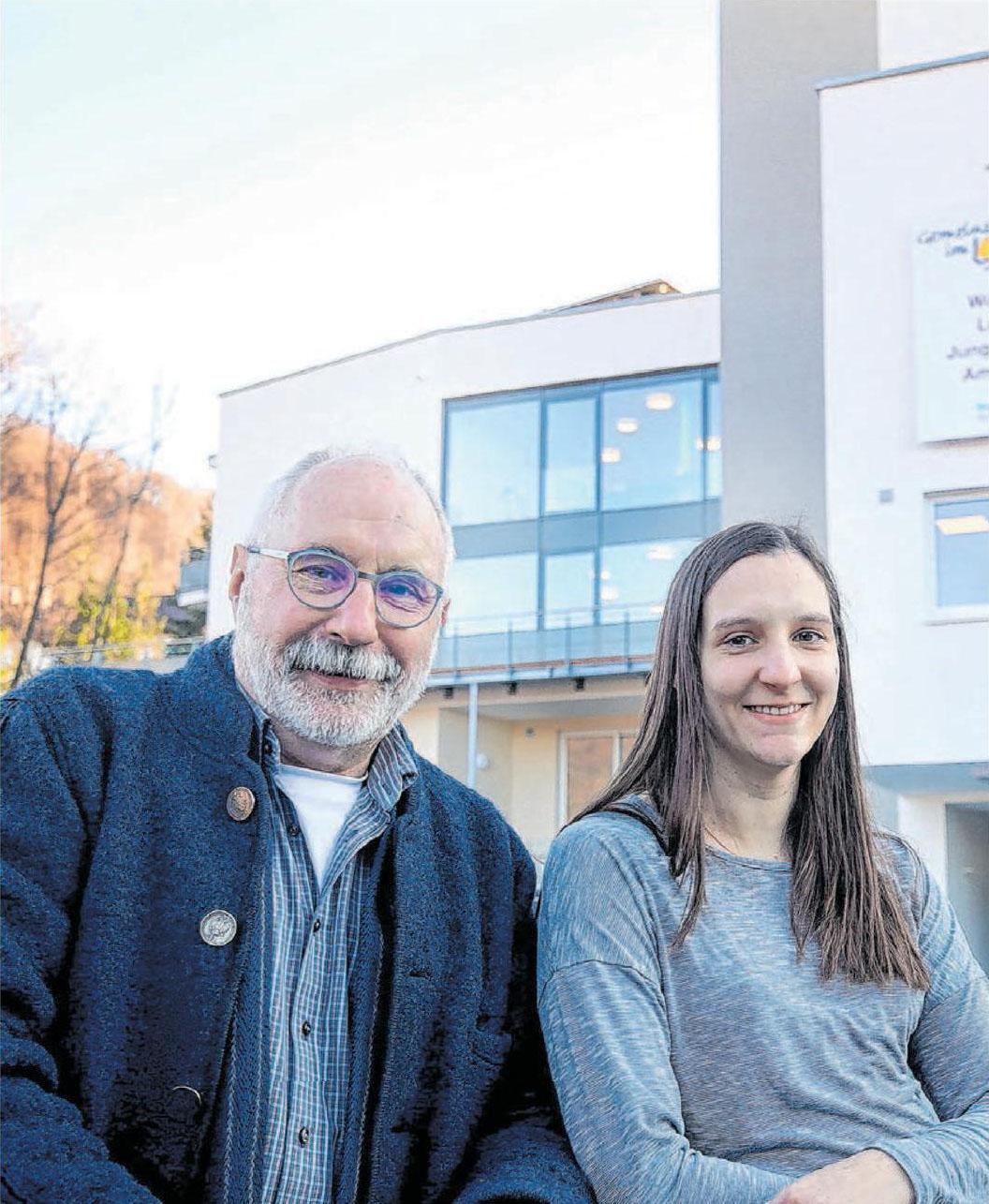 Änderungen zum Neustart: Tochter Tabea Budweg übernahm die Heimleitung, Wolfgang Budweg bleibt aber Geschäftsführer.
