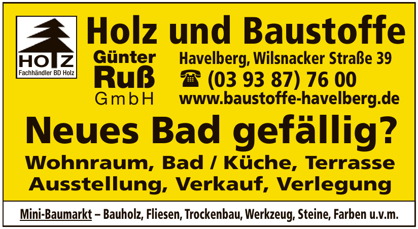 Holz und Baustoffe Günter Ruß GmbH