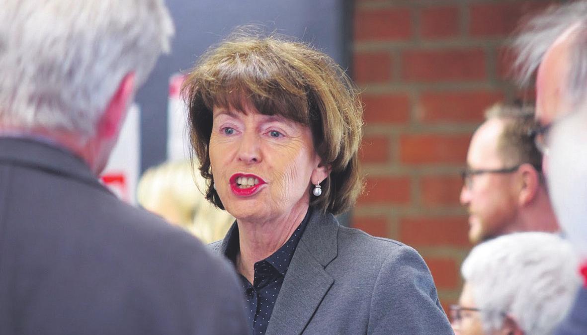 Oberbürgermeisterin Reker war bei den Feierlichkeiten ebenfalls vor Ort Bild: Bürgerverein Köln-Zollstock e. V