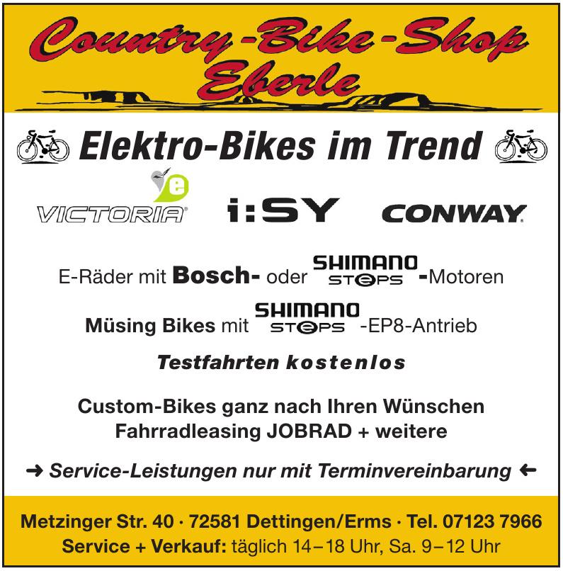 Country-Bike-Shop Eberle