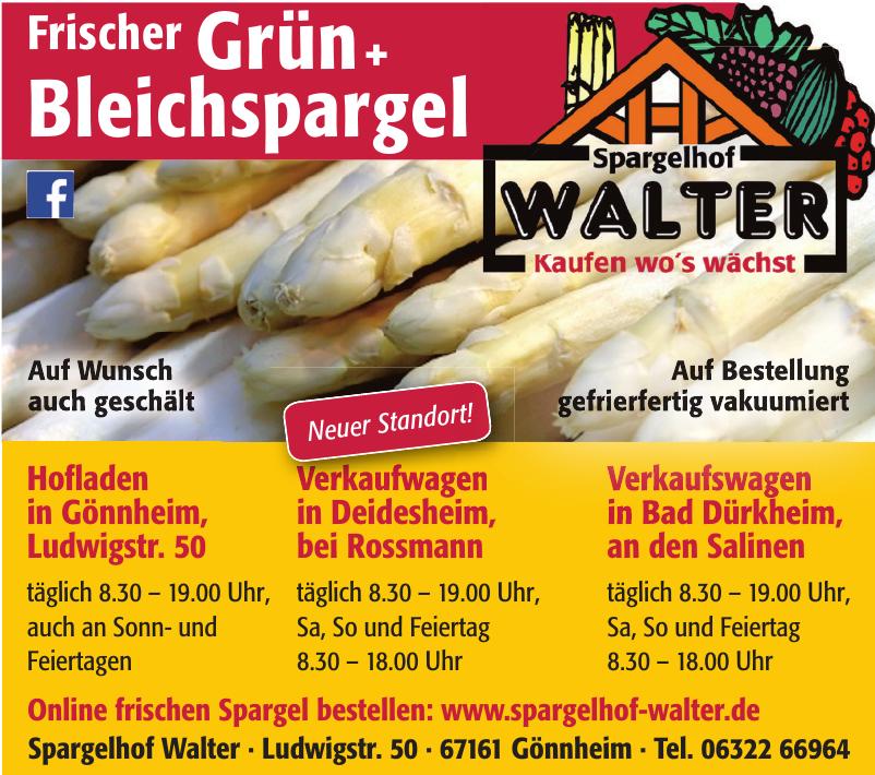 Spargelhof Walter