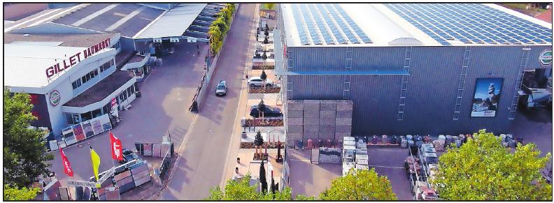Bietet Kaufleuten im Großhandel ein vielfältiges Aufgabengebiet: Gillet Baustoffe. FOTO: FREI
