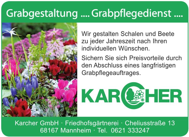 Karcher GmbH Friedhofsgärtnerei