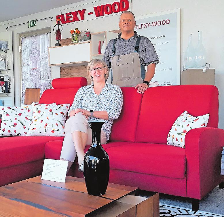 Realisieren auch ausgefallene Wohnwünsche: Marie-Luise Kowalke und Dieter Müller. FOTOS: BRÄUNLING