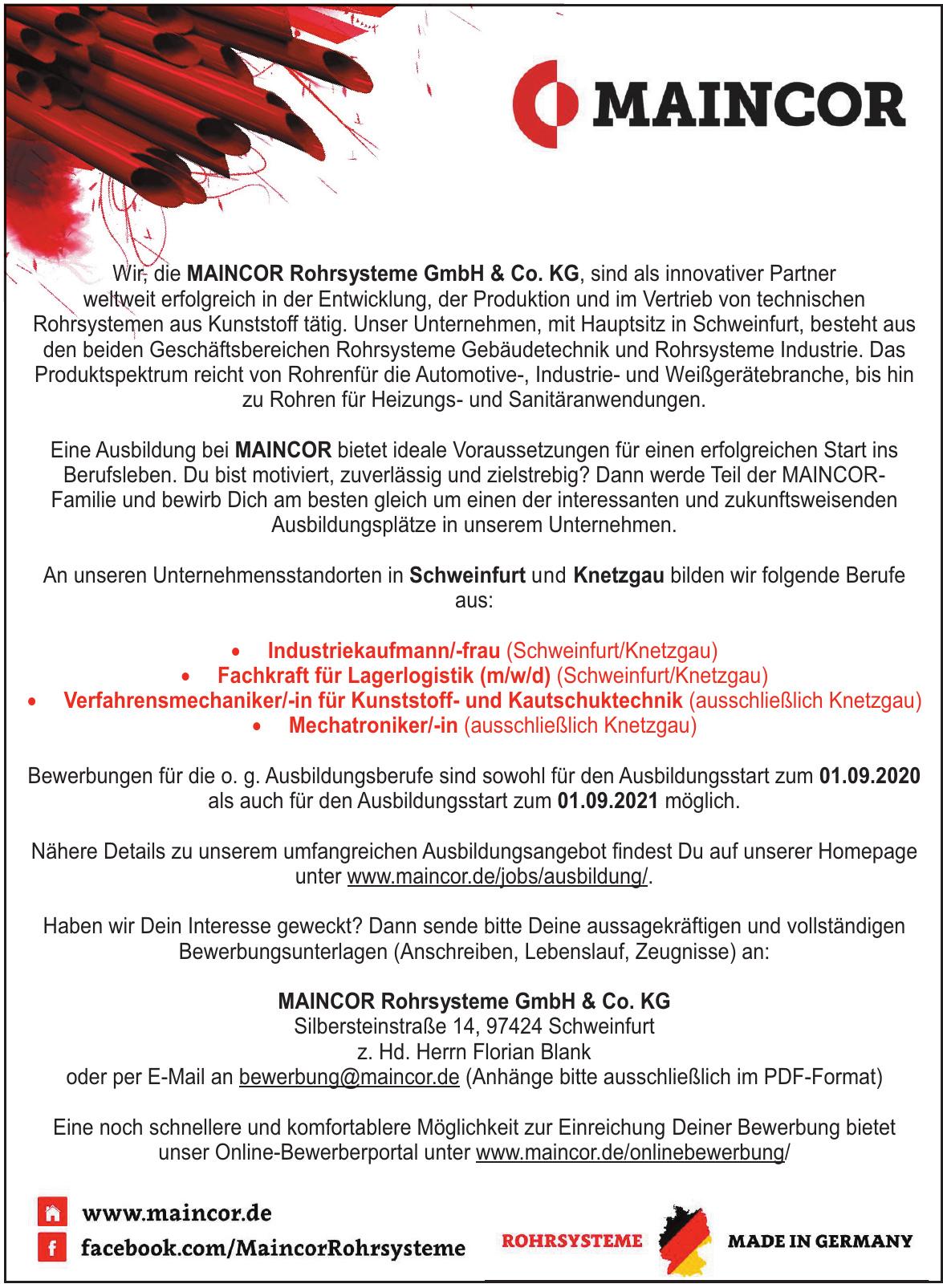 MAINCOR Rohrsysteme GmbH & Co. KG