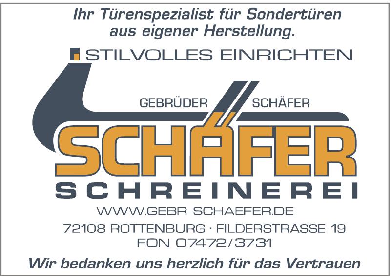 Gebr. Schäfer Schreinerei