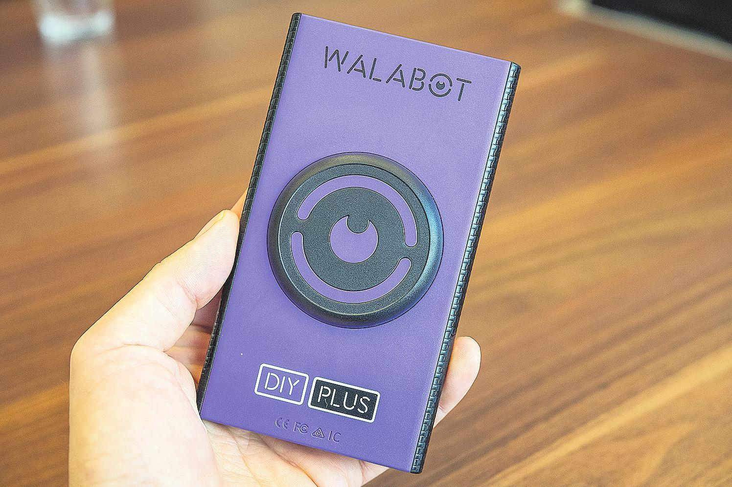 Der Walabot von Vayyar ist ein Radarsensor zum Anstecken an Smartphones, der in Wände schauen kann.