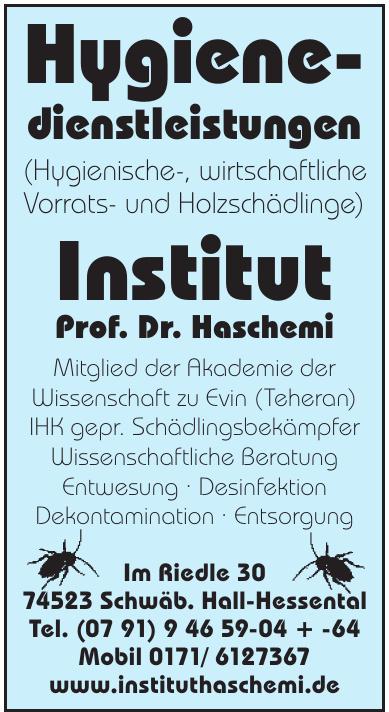 Instittut Prof. Dr. Haschemi