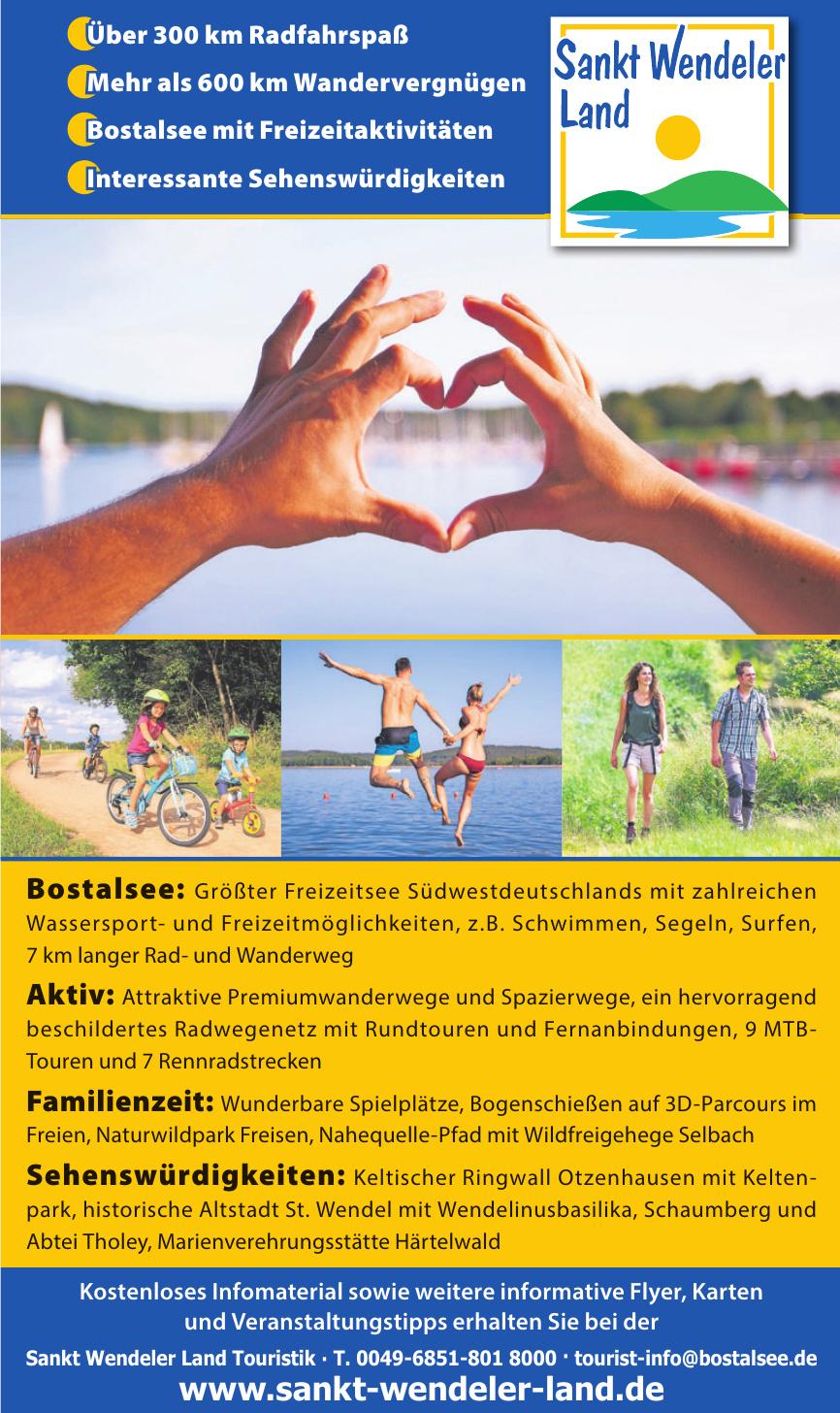 Tourist-Info Sankt Wendeler Land