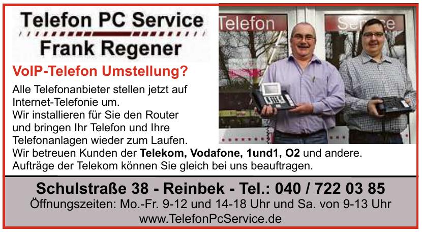 Telefon PC Service Frank Regener