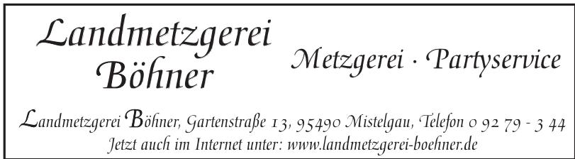 Landmetzgerei Böhner