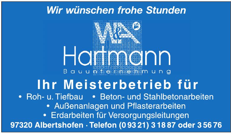 W&A Hartmann Bauunternehmung