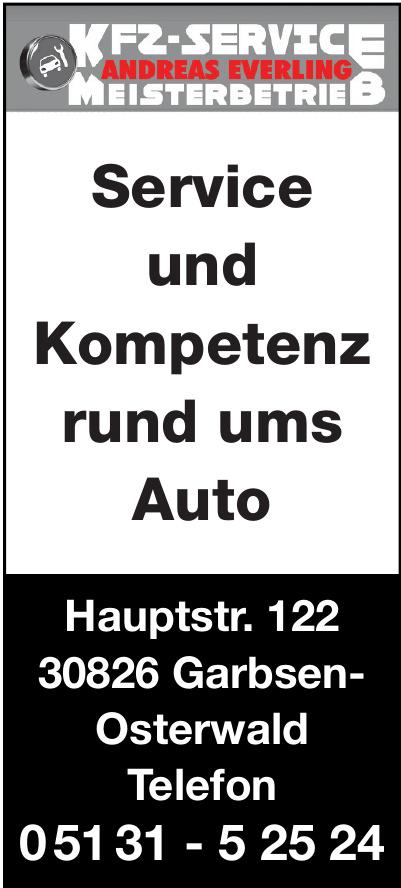 KFZ-Service Andreas Everling Meisterbetrieb
