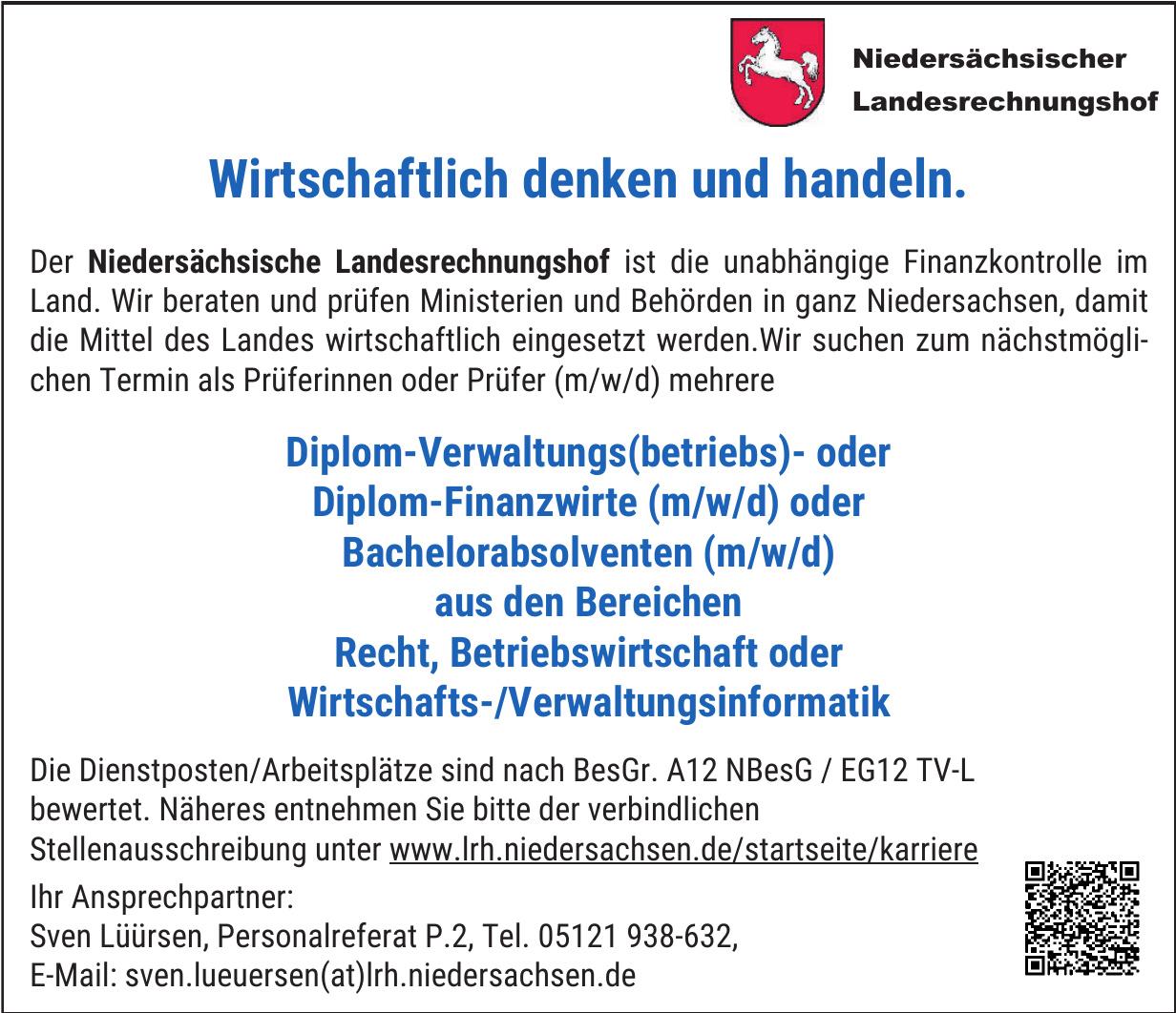 Der Niedersächsische Landesrechnungshof