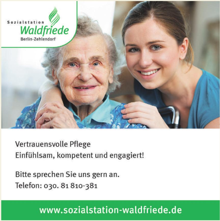 Sozialstatiton Waldfriede