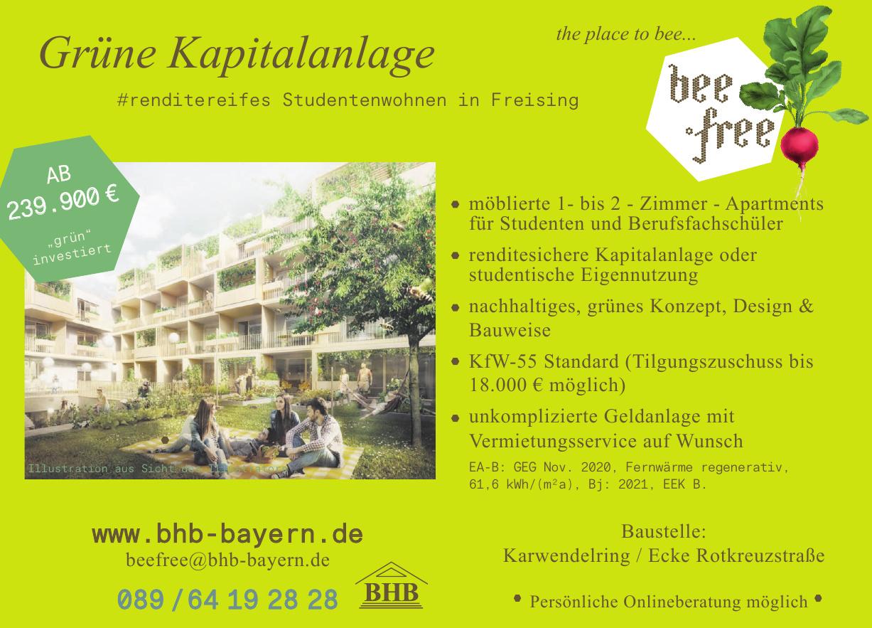 BHB - Studentenwohnen in Freising
