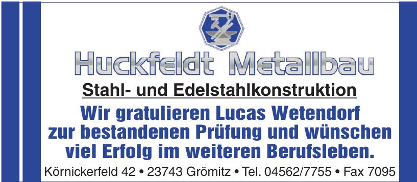 Huckfeldt Metallbau