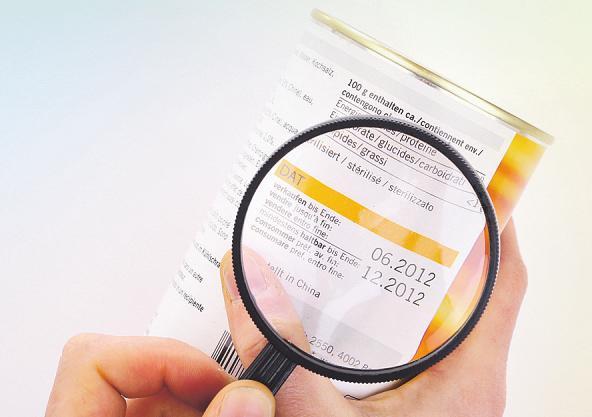 Es gilt das Mindesthaltbarkeits- vom Verbrauchsdatum zu unterscheiden Bild: shootingankauf/stock.adobe.com