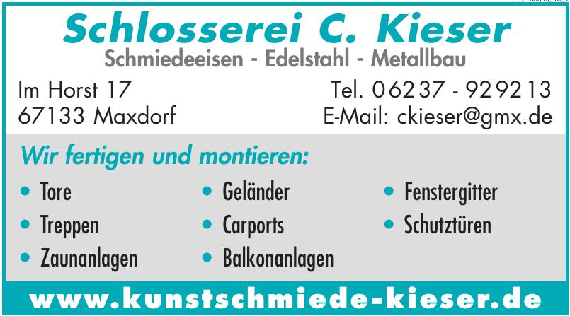 Schlosserei C. Kieser